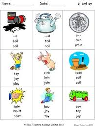 These free phonics worksheets may be used independently and without any obligation to make a purchase, though they work well with the excellent phonics dvd and phonics audio cd programs developed by rock 'n learn. Oi And Oy Phonics Lesson Plans Worksheets And Other Teaching Resources