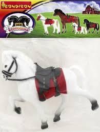 <b>Лошадь</b> с седлом и уздечкой