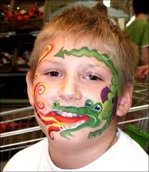 stunning fantasy based face paintings thaumaturgical children face painting daizy design simple carnival face painting zoo animal party hour al simple