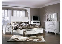 Prentice California King Storage Sleigh Bed,Millennium