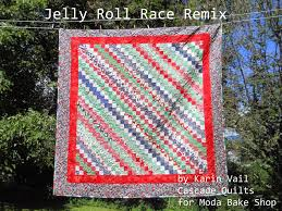 Jelly Roll Race Remix Quilt Â« Moda Bake Shop & Jelly Roll Race Remix Quilt Adamdwight.com