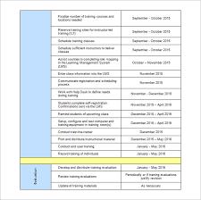 Training Programme Schedule Format 25 Training Schedule Templates Docs Pdf Free Premium