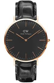 men s watch daniel wellington classic black reading rose gold black leather strap dw00100129 e oro gr daniel wellington watches