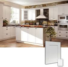 ice white rta shaker style kitchen cabinets wood birch finish white boxed ice office exterior