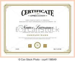 Certificate Background Free Vintage Retro Classic Frame Certificate Background Template Free