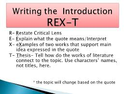do now pass forward your hw grade sheet signed crucible r restate critical lens e explain what the quote means interpret x