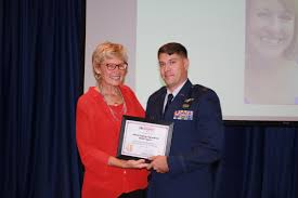 photos adam huffman 366th operation squadron executive officer receives a certificate from katherine