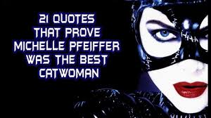 Famous Catwoman Quotes