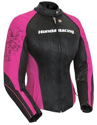 black joe rocket womens honda sd mesh jacket 2016 pink black