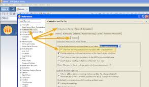 Lotus Notes How To Automatically Remove Meeting Invitations From Your
