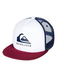 Кепка-<b>бейсболка мужская QUIKSILVER</b> Foamslay White — купить ...
