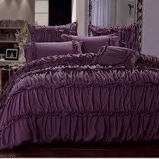 graceful purple bed linen sets cool designs