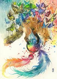 watercolor animal paintings luqman reza mulyono 19