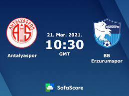 Antalyaspor vs BB Erzurumspor live score, H2H and lineups