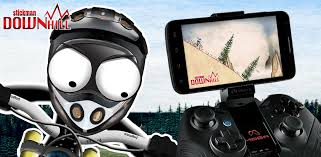 Stickman Downhill Free Android Games