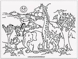 Small Picture Beautiful Zoo Animals Coloring Pages Gallery New Printable
