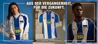 Articleaccording to bild, hertha has found a new kit sponsor. Hertha Berlin 19 20 Home Away Kits Released Footy Headlines