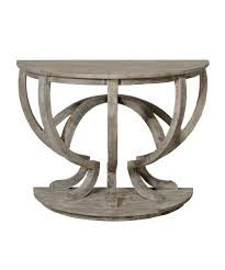 small demilune hall table. Old And Vintage Antique Demilune Console Table Painted With White Color Made From Reclaimed Wood Ideas Small Hall B