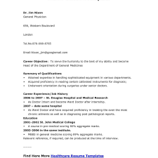 Resumeexamples11 Mbbs Doctor Resume Sample Medical With Regard To