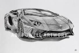 lamborghini aventador black and white drawing. pencil drawing lamborghini aventador superveloce black and white