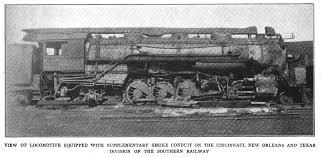 above southern railway smoke duct 1920