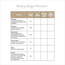 Free Wedding Budget Template Free Wedding Budget Template