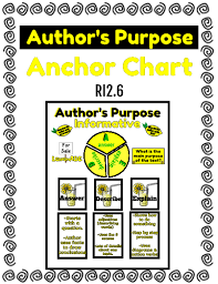 Authors Purpose Informative Anchor Chart