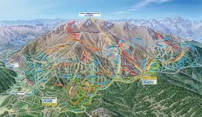 mammoth mountain bike terrain park trail map  official