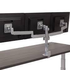 workrite ergonomics conform triple static monitor arm