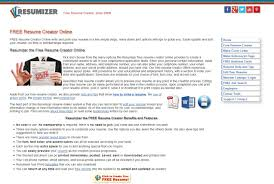 Resumizer Resumizer Free Resume Creator Alternatives And Similar Websites And 5