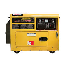 generator. Generator Diesel 4.8Kva Silent Electric Start Standby Rated
