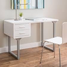 plastic office desk. Retro White And Grey Writing Desk (White/ Grey) Plastic Office C