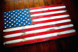 wooden american flag wall art 5 vintage wood flag designs for your home wooden american flag wall