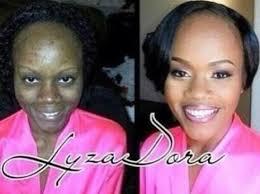 black makeup transformation facebook photos incroyable regardez ment le maquillage fait des makeup sorcery 02 550x411 copy