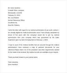 Sample Medical Authorization Letter Sample Medical Authorization Letter 100 Documents In PDF WORD 2