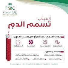 """و ز ا ر ة ا لـ صـ حـ ة السعودية Twitter પર: """"ما هي أسباب تسمم الدم ؟  #sepsis… """""""