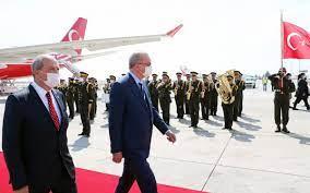 Erdoğan, KKTC'de resmi törenle karşılandı - Son Kalem Haber