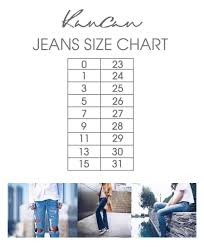 Jag Jeans Size Chart Inches Kancan Jeans Size Chart Gliks