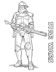 Starwars Coloring Pages Viettiinfo