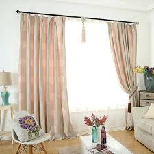 wide curtains pink tree embroidery chenille thermal pinch pleated extra wide curtains extra wide curtains bed