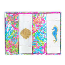 Lilly Pulitzer Pattern Identification Awesome Lilly Pulitzer Cocktail Napkin Set