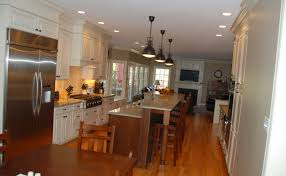 Galley Kitchens With Island Best Galley Kitchens With Islands Awesome Design Ideas 9747