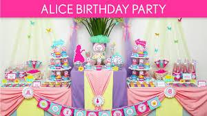 Alice In Wonderland Decorations Alice In Wonderland Birthday Party Ideas Wonderland Tea Party