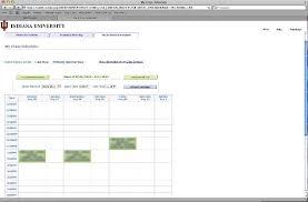 College Class Scheduler My Class Schedule All Iu Campuses One Iu