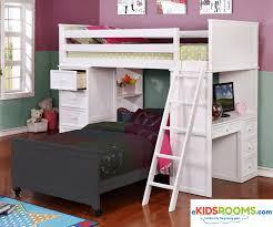 House Bunk Bed Allen House Loft Bed Bed Frames Ekidsroomscom