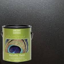 pearl wall paintModern Masters 1 gal Black Pearl Metallic InteriorExterior Paint