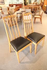 Consign Design Edmonton Set Of 2 High Back Vintage Chairs