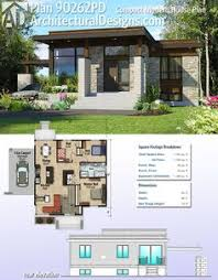 small modern house plans. Architectural Designs Compact Modern House Plan 90262PD Gives You 2 Beds And Over 1,100 Square Feet Small Plans