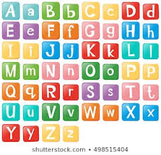 Upper And Lowercase Abc Chart Upper And Lower Case Letters Images Stock Photos Vectors