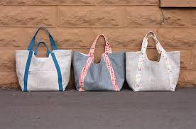 Tote Bag Sewing Pattern Extraordinary Poolside Tote PDF Pattern Noodlehead